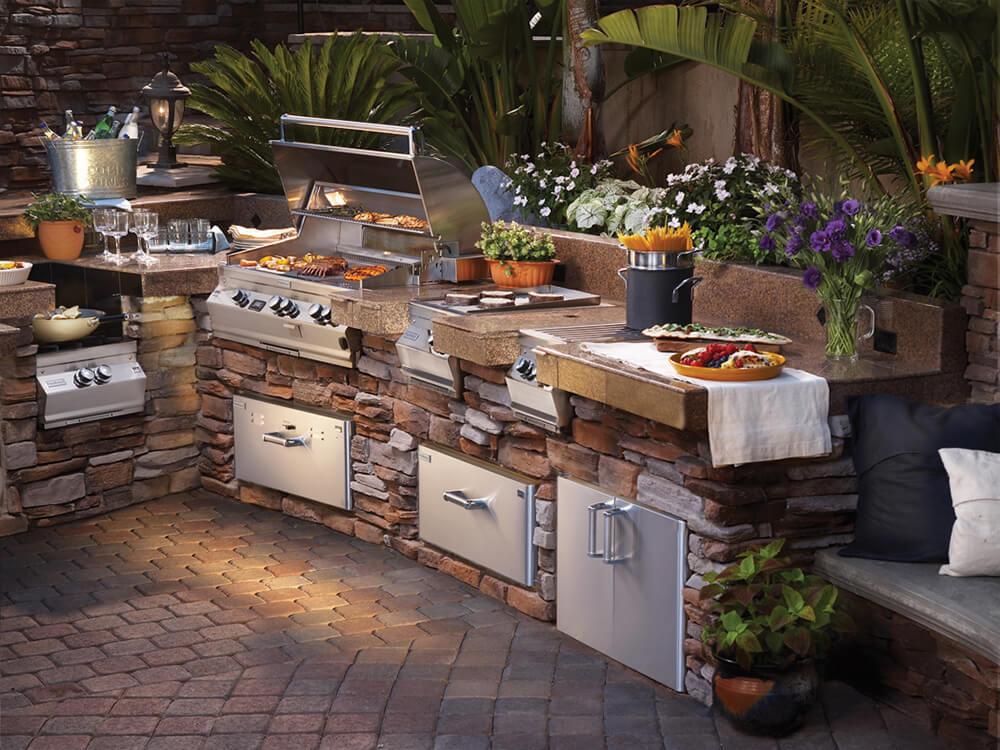 cocinas y fogones Wolf estilo americano