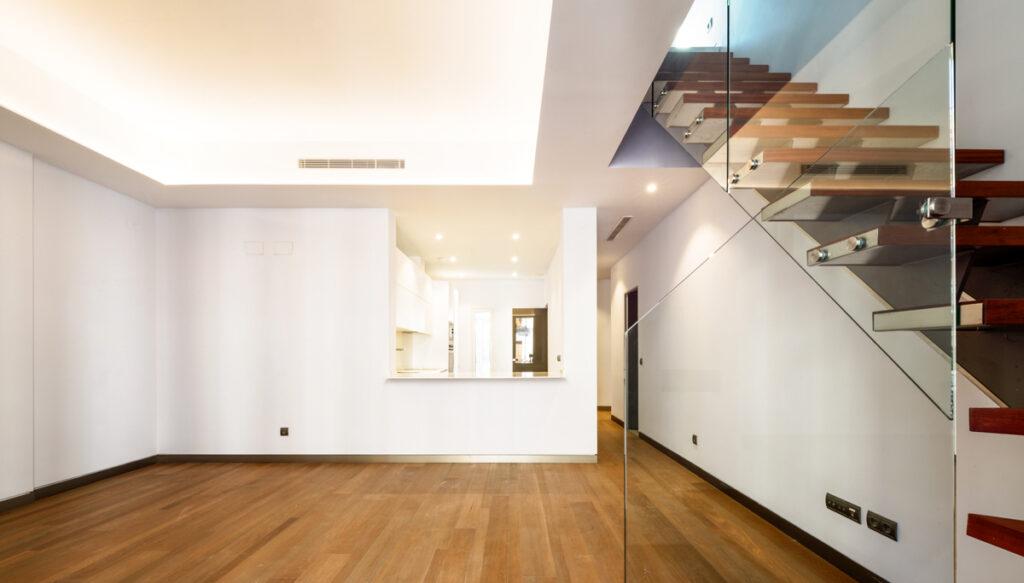 interior viviendas de lujo edificio Lamarca