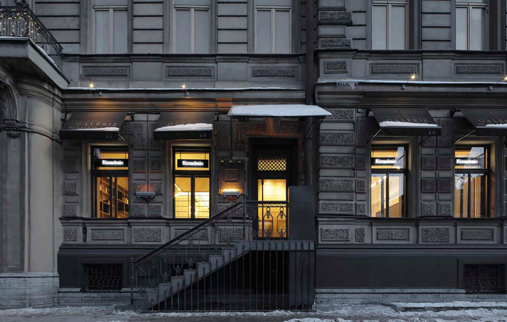 Rimadesio en Rusia Showroom
