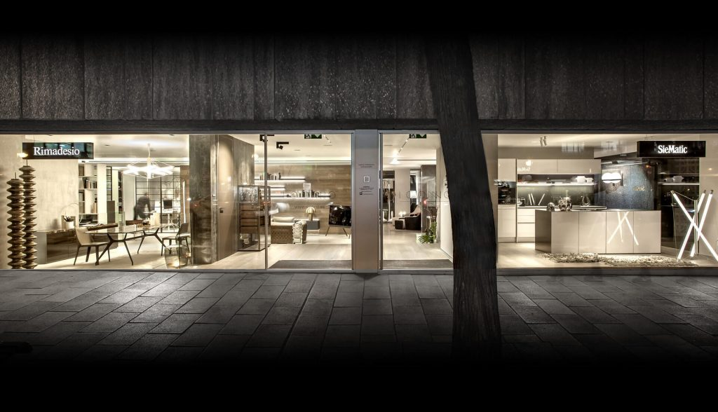 Showroom Rimadesio Madrid ICONNO