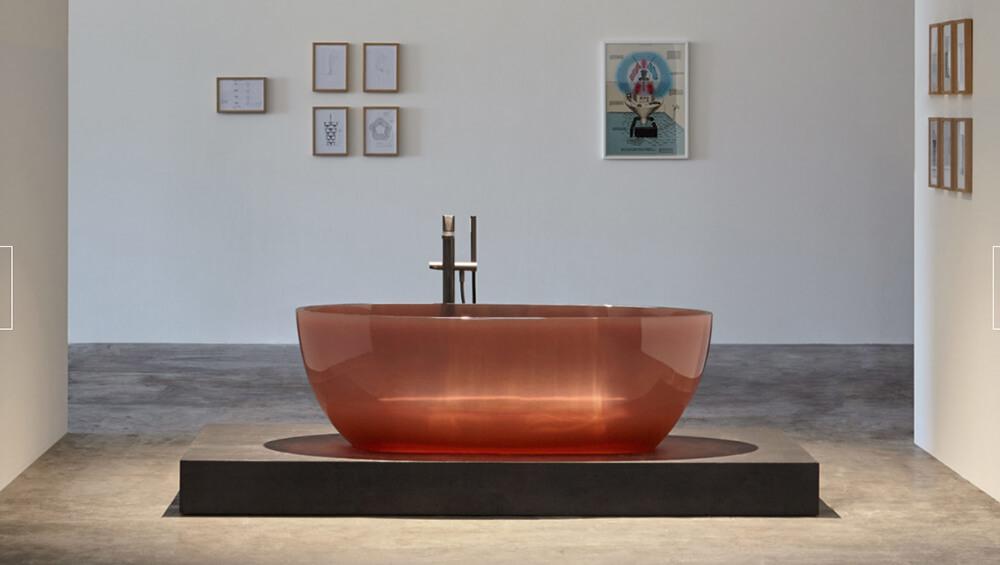 antonio lupi presenta la bañera cristalmood como novedad
