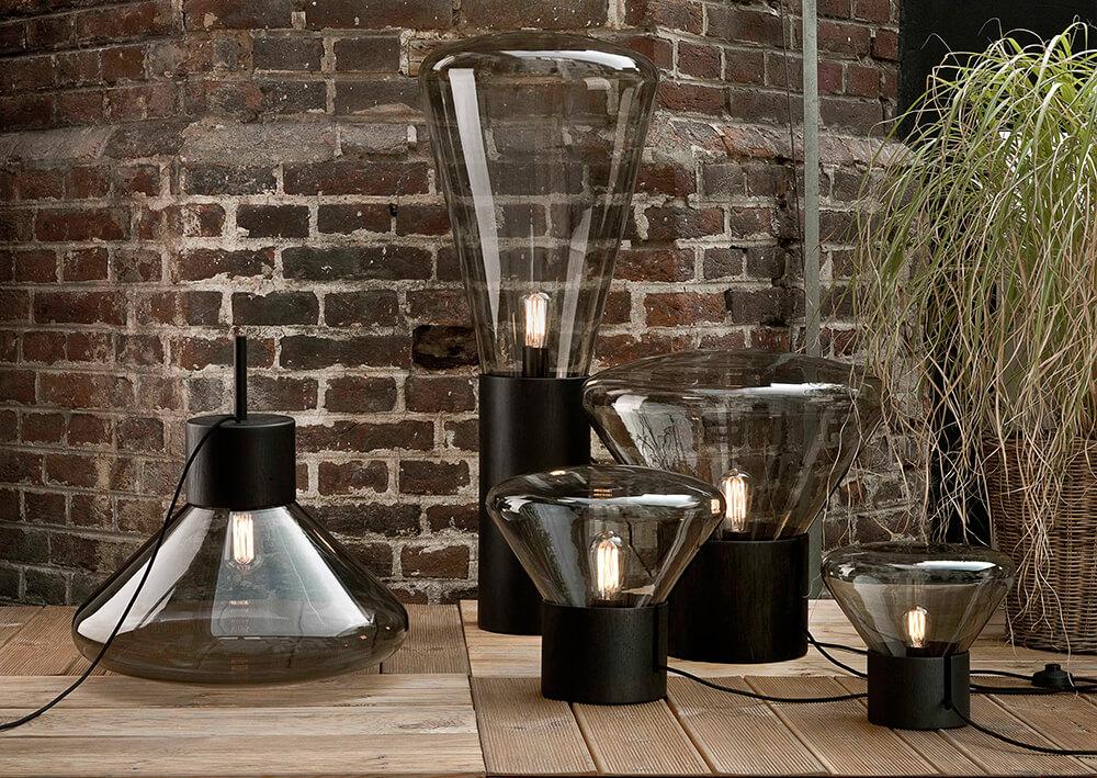 Brokis: Iluminacion moderna, muffins black