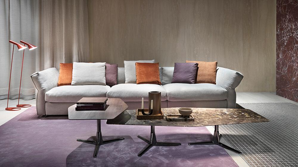 Flexform presenta el sofá Newbridge y mesa Gustav como novedad en IMM Cologne