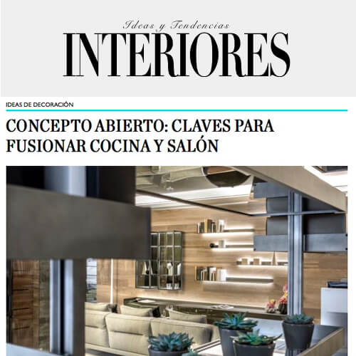 Ideas y tendencias interiores: Concepto abierto