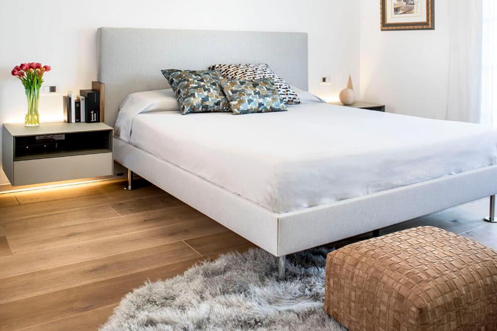 Mobiliario de diseño Rimadesio Puff Flexform Proyecto integral interiorismo los Madroños