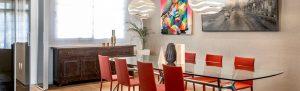 Mobiliario de diseño Rimadesio Proyecto integral interiorismo los Madroños
