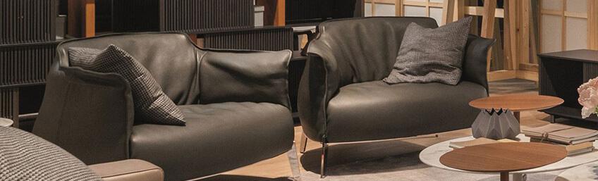 Novedades de mobiliario de verano: Sillón Archibald Gran Comfort de Poltrona Frau