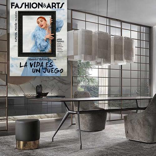 Rimadesio y Flexform representantes atemporales de Italia en Magazine fashion&arts en La Vanguardia