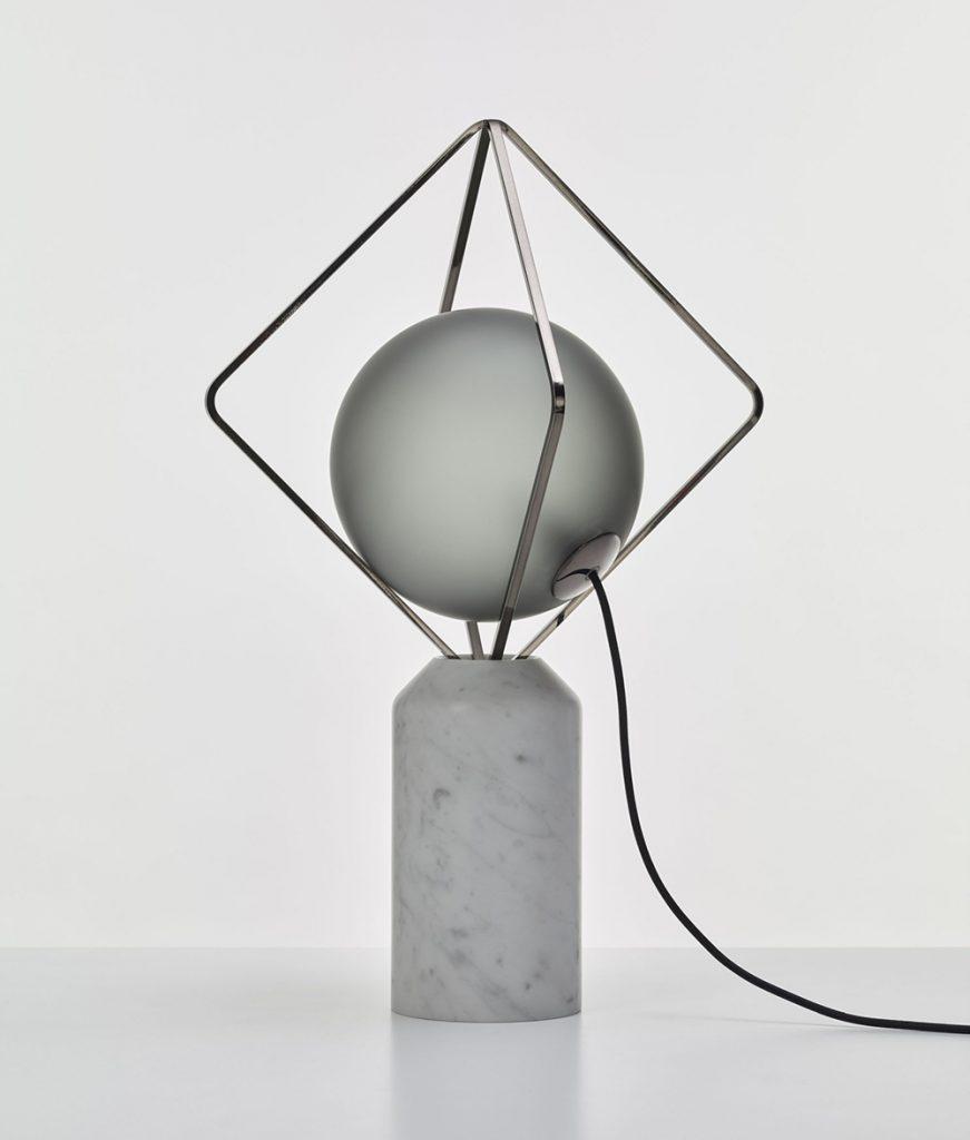 Brokis lámpara efecto escultórico marmol Jack O'Lantern