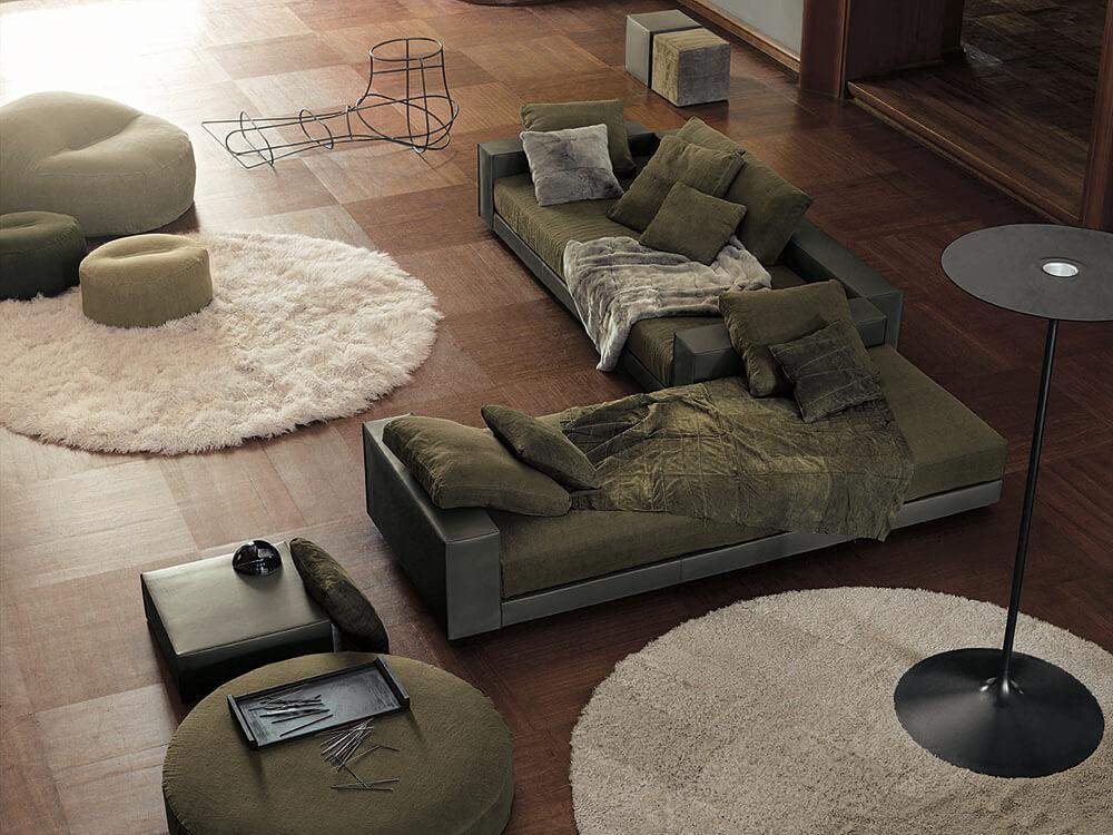 Claves deco Octubre, viste tu casa de invierno alfombras Ivano Redaelli