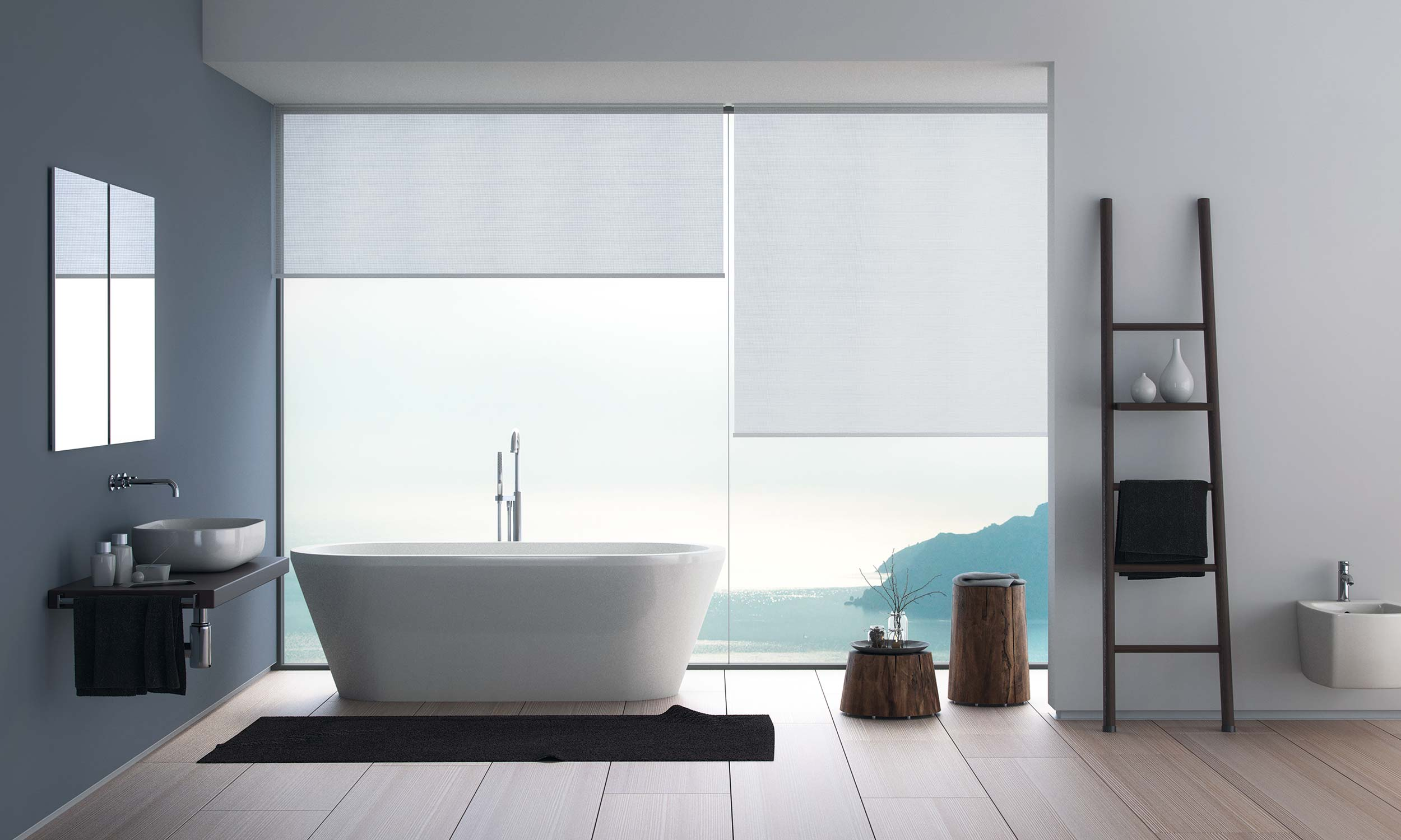 cortinas enrollables Invisible Phantom de Mycore
