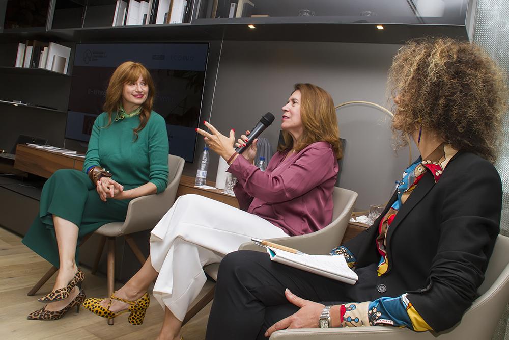 Jung e ICONNO VVV2 El Hogar, Cocina/Oficina por venir. Conferencia con Marisa Santamaría, Paloma Gómez, arquitecta y Cristina Mateo.