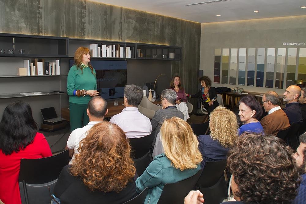 Jung e ICONNO VVV2 El Hogar, Cocina/Oficina por venir. Conferencia de Marisa Santamaría, investigadora de tendencias internacionales de diseño.