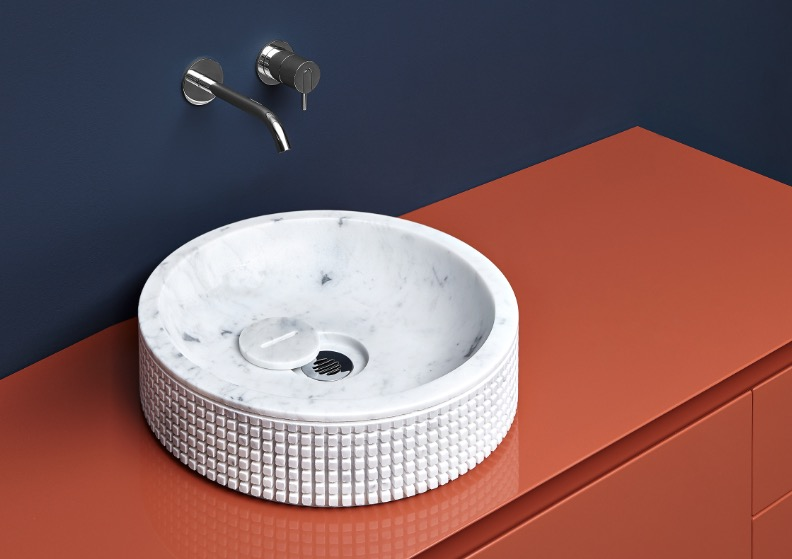 lavabo de diseño pixel45 de antoniolupi
