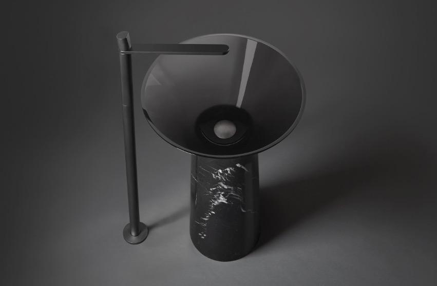 lavabo de diseño Albume de Antoniolupi