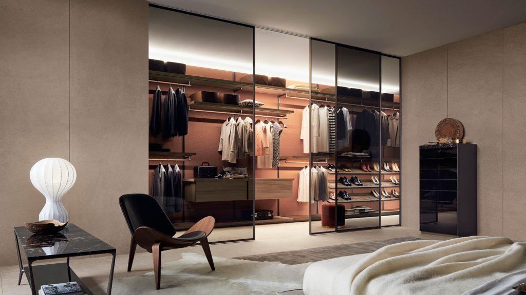 Mobiliario de diseño Rimadesio para dormitorios modernos
