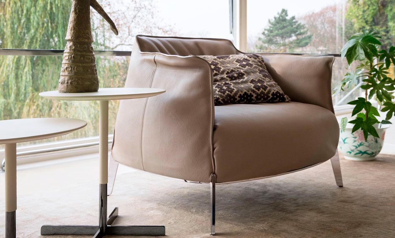 Poltrona Frau firmas mobiliario diseño ICONNO Madrid