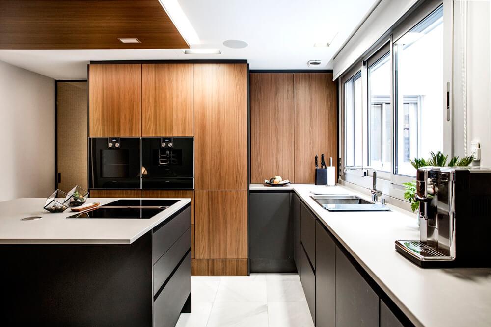 proyecto de interiorismo de cocina SieMatic de Iconno en Madrid