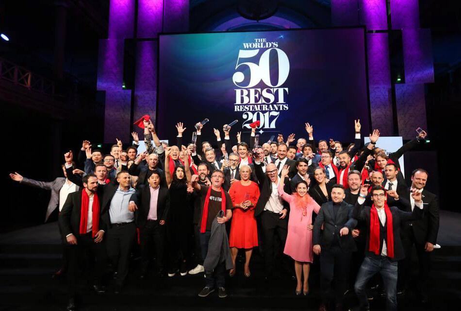 The World´s 50 best restaurants 2017