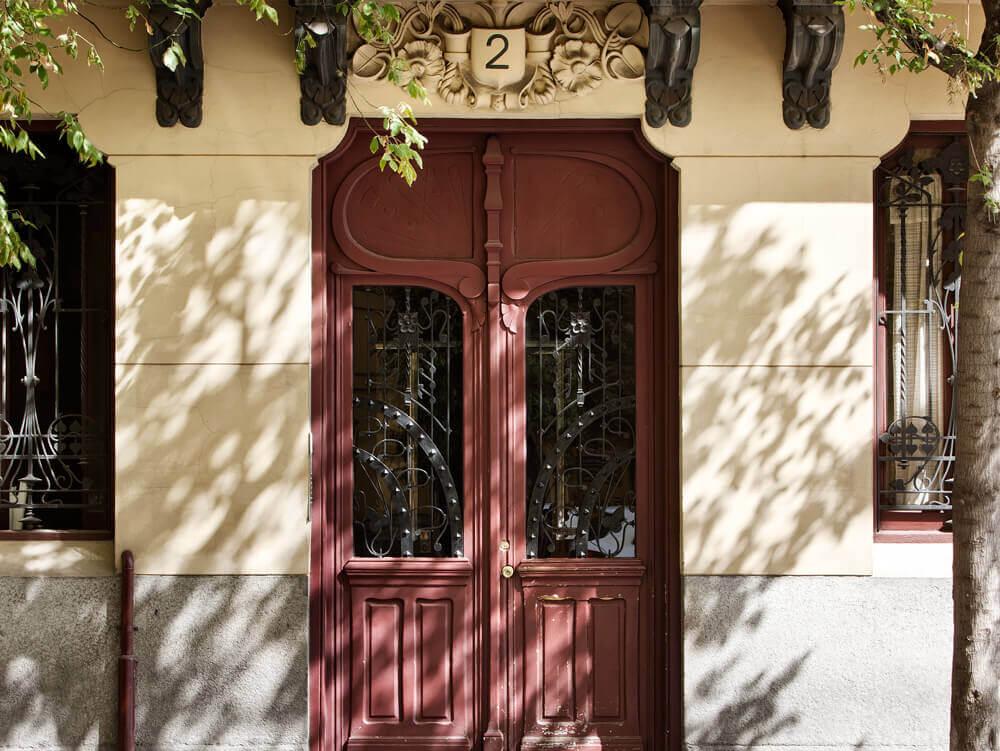 Fachada Francisco de Rojas casa decor 2018