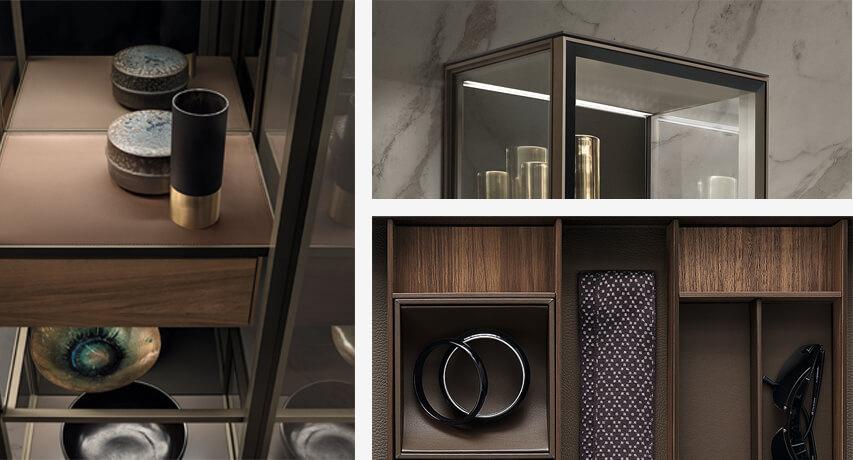 Novedades acabados en mobiliario de diseño Rimadesio en el salón del mueble de Milan 2017