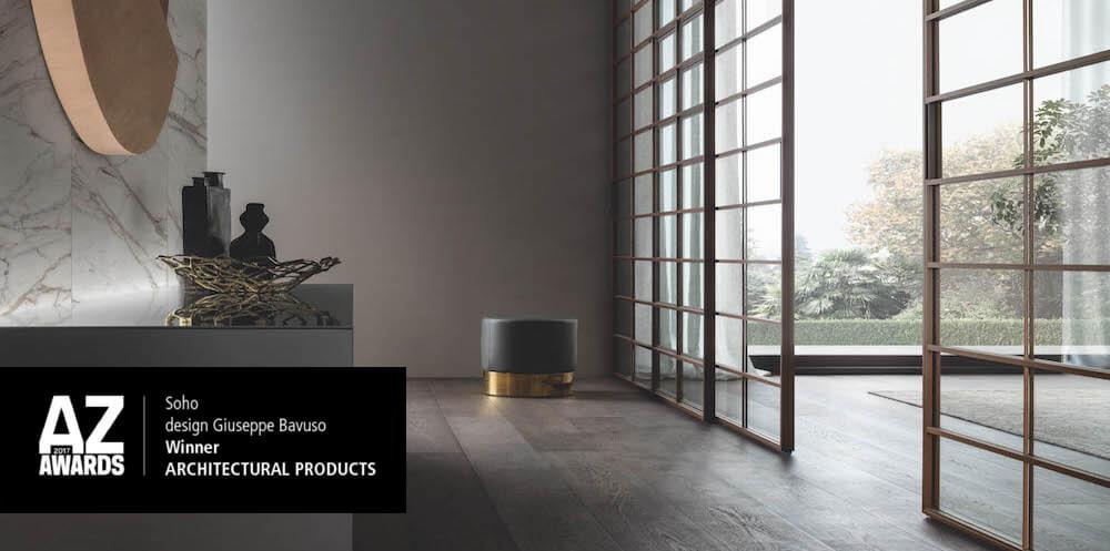 Soho premio AZ architectural product and people choice