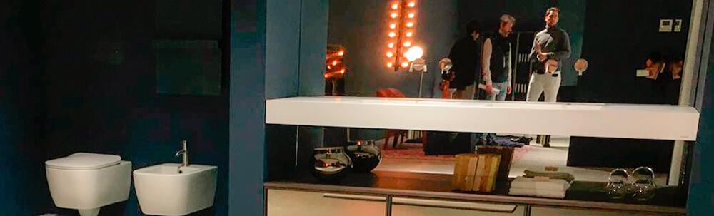 visita a la fábrica Antonio Lupi mobiliario de diseño bano