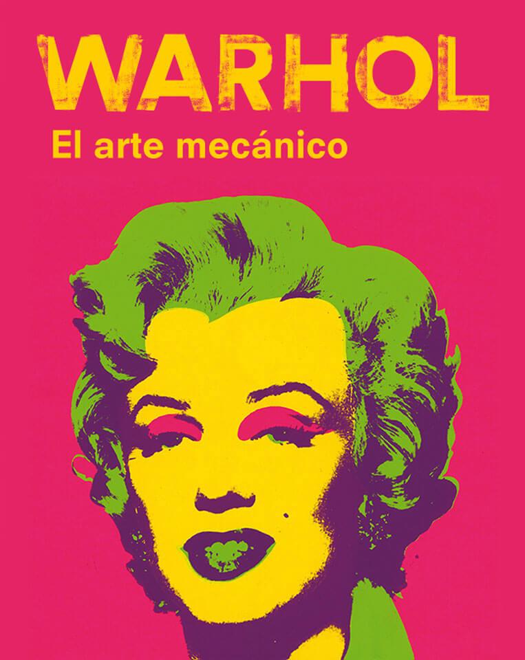 Warhol, el arte mecánico exposición en el Caixa forum Madrid