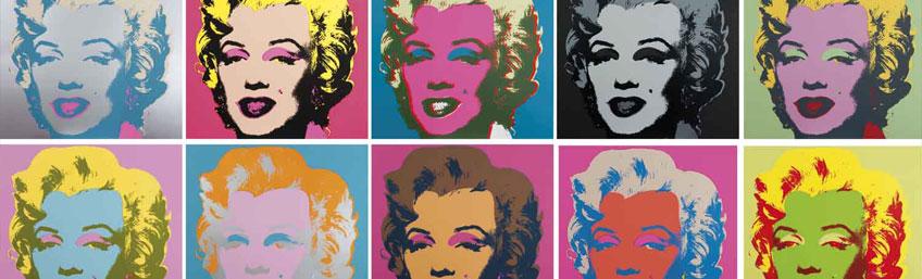 Warhol, el arte mecánico exposición en Madrid