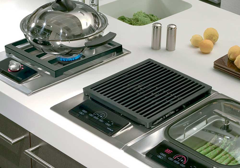 placas cocina modulares Wolf