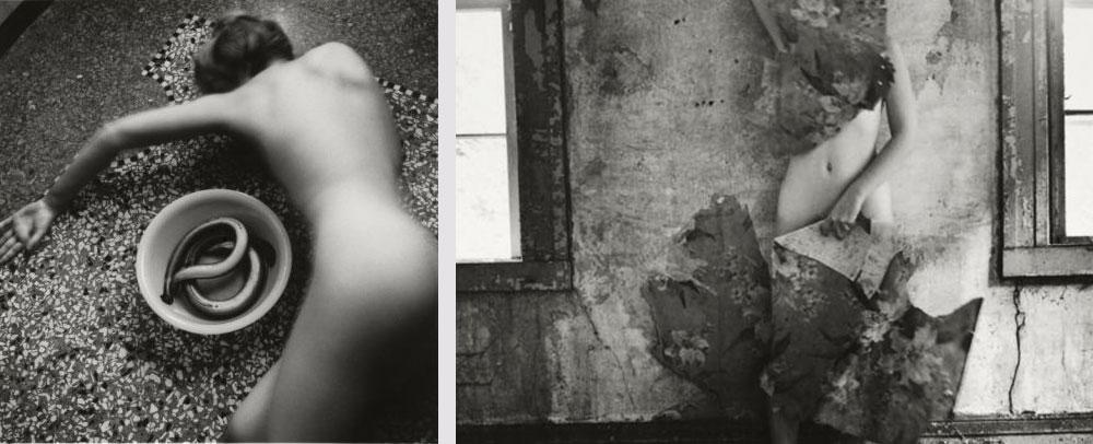 """Francesca Woodman Exposición en Fundación Canal """"Ser un ángel"""" obra fotografíca"""