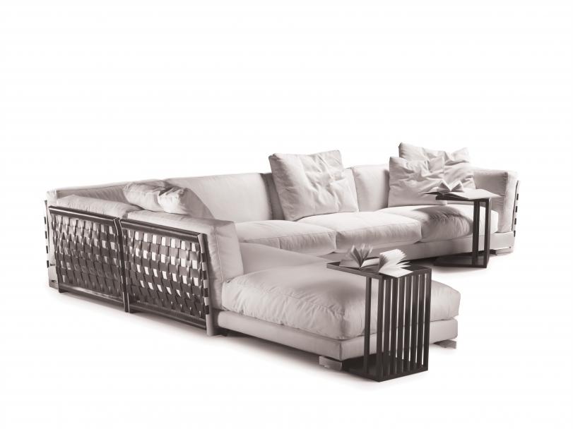 sofa Cestone de Flexform diseño italiano