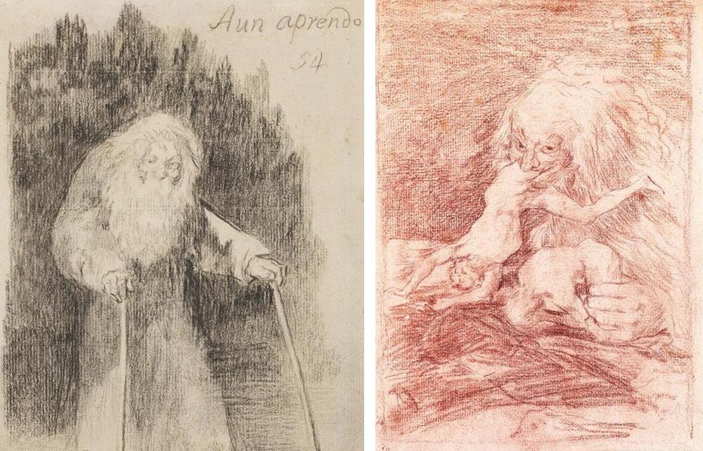 Goya, exposición de Dibujos en el museo del Prado