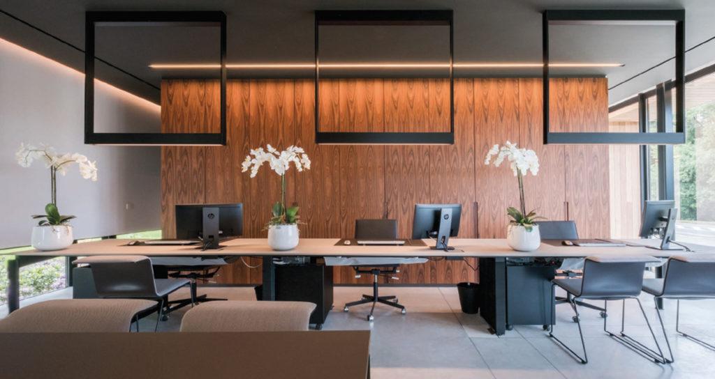 Kreon iluminación técnica para oficina
