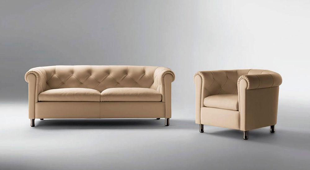sillón arcadia ambientate de Poltrona Frau