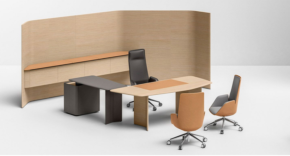 Poltrona Frau silla Cercle para oficina
