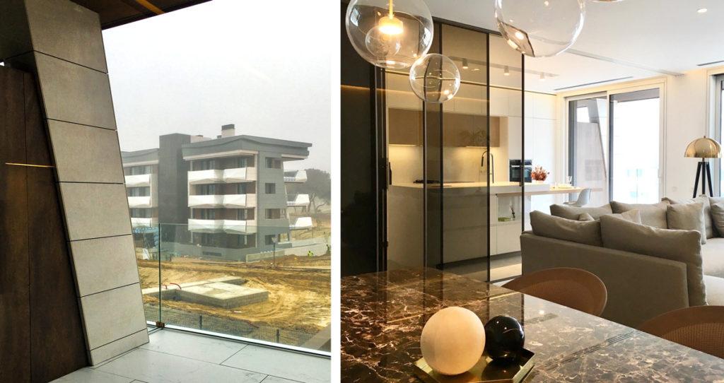 exterior e interior proyecto contract urbanización La Finca Pozuelo Madrid