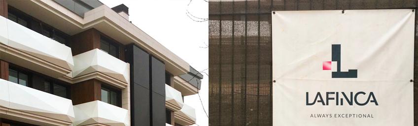 proyecto contract edificio LG3 urbanización La Finca