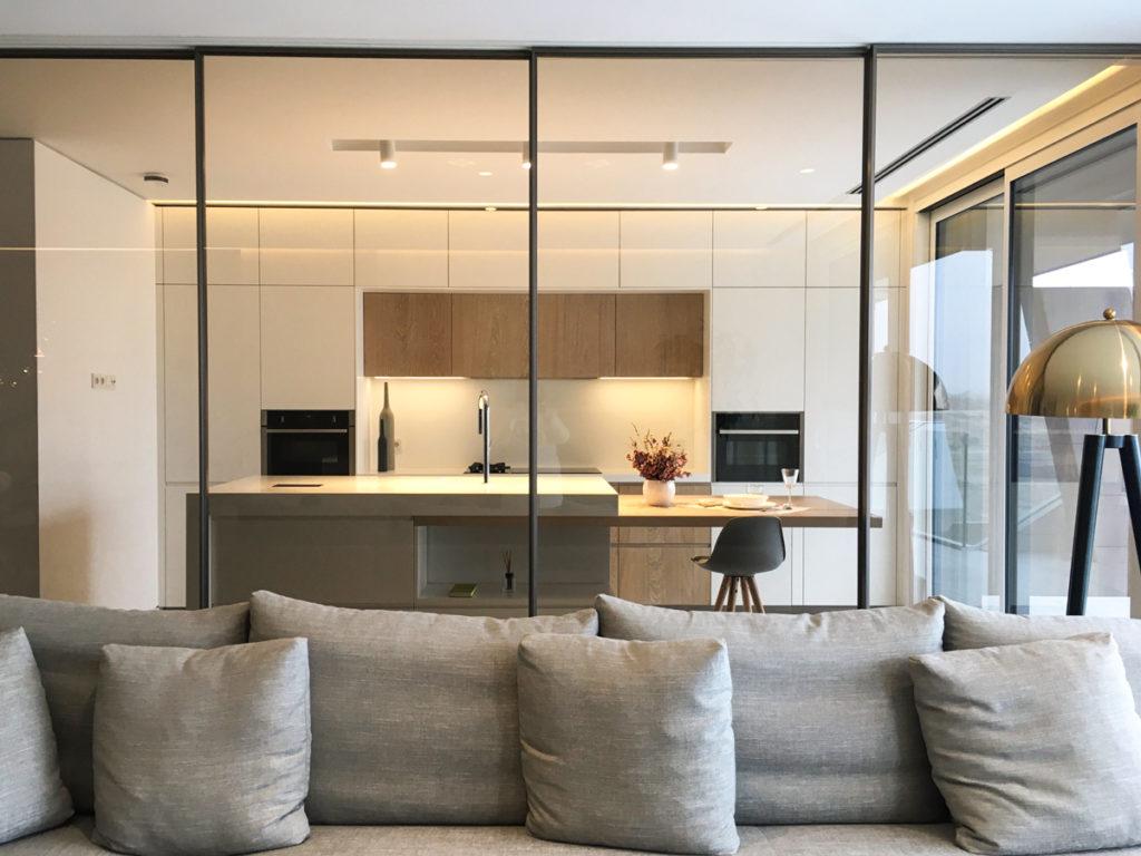 Rimadesio paneles Velaria en proyecto contract LG3