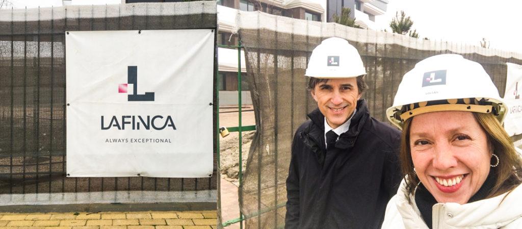 visita de control obras proyecto contract urbanización La Finca Pozuelo