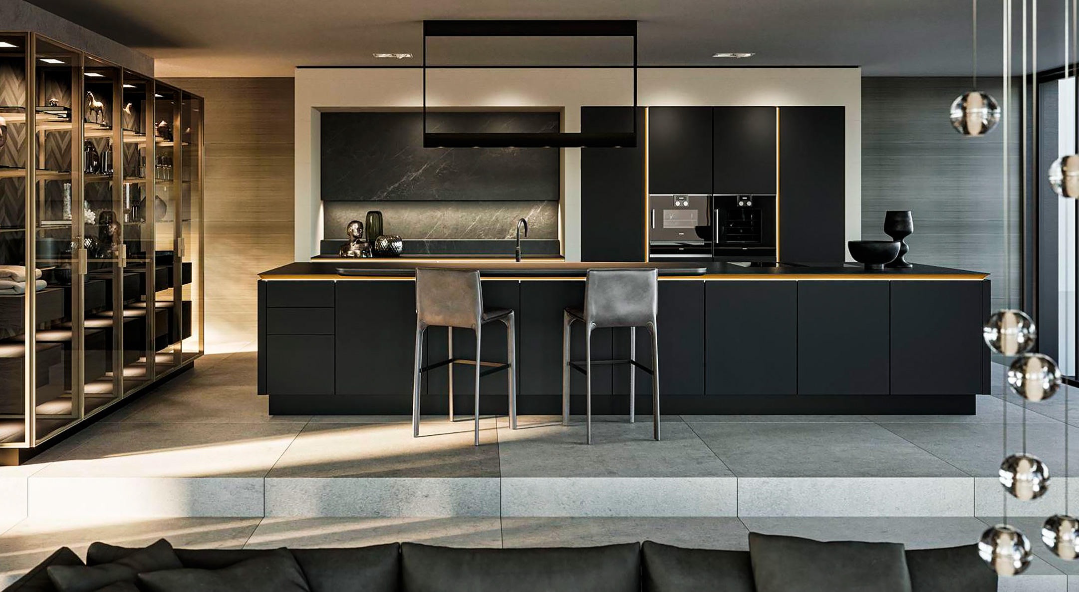 Showroom oficial cocinas de diseño SieMatic en Madrid