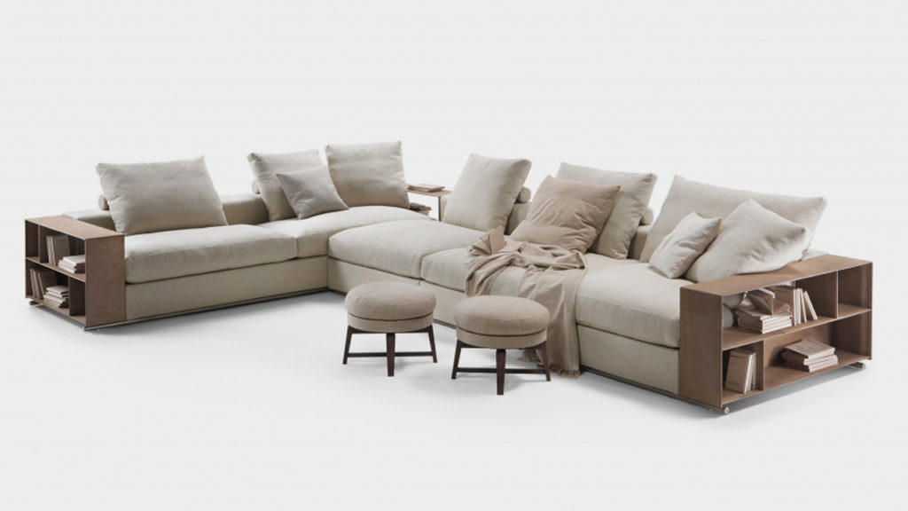 Sofás modernos de diseño italiano Flexform