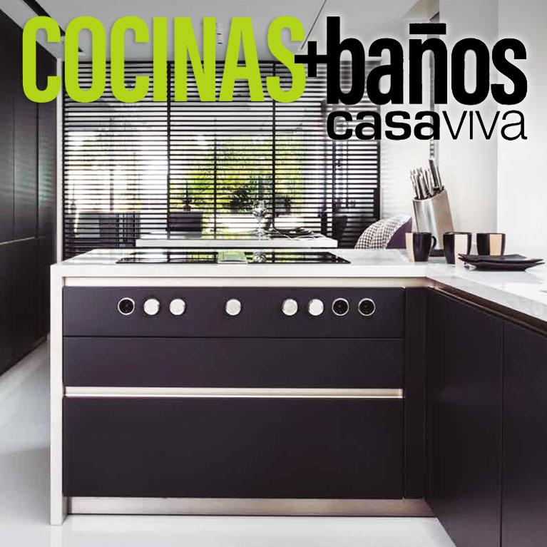 casaviva en portada proyecto de cocina en la Moraleja por Iconno estudio SieMatic