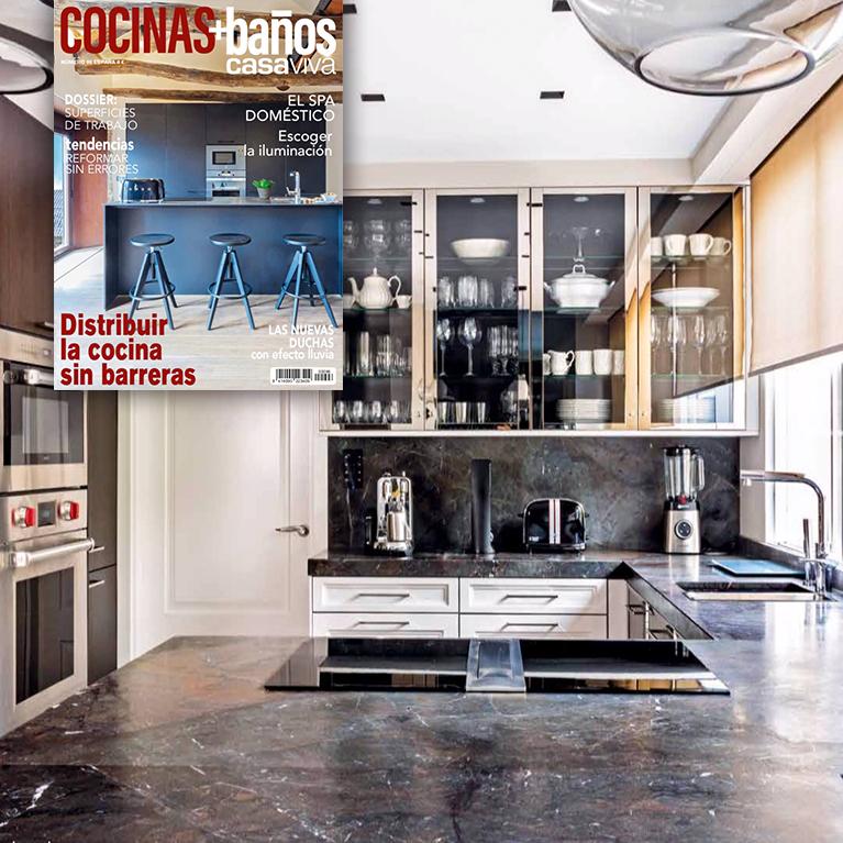La personalidad contemporanea de la cocina SieMatic en casa viva Diciembre iconno estudio