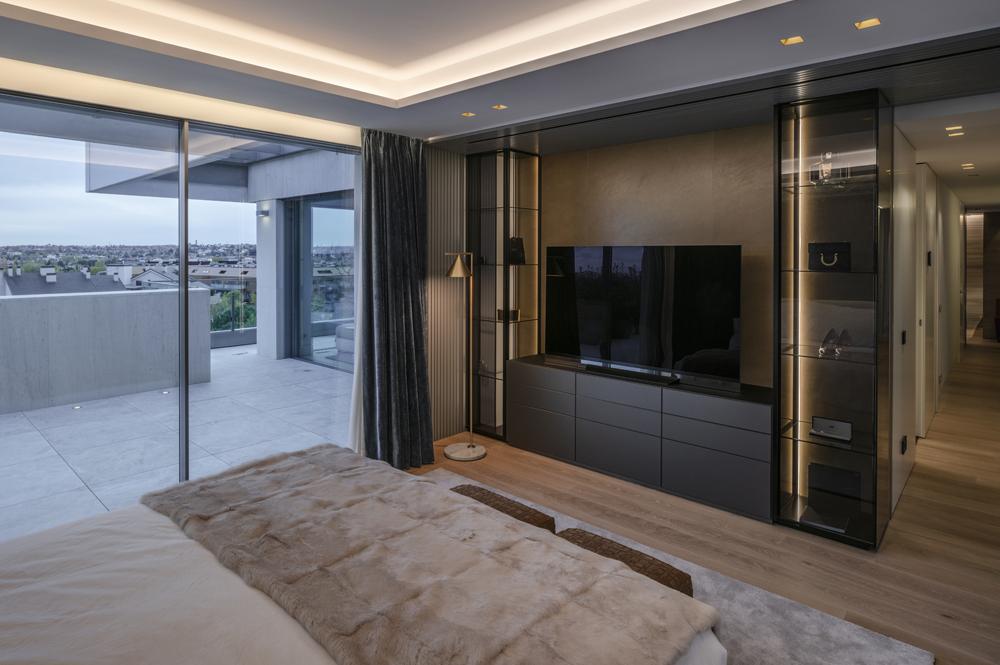 mobiliario diseno dormitorio flexform newbridge aravaca