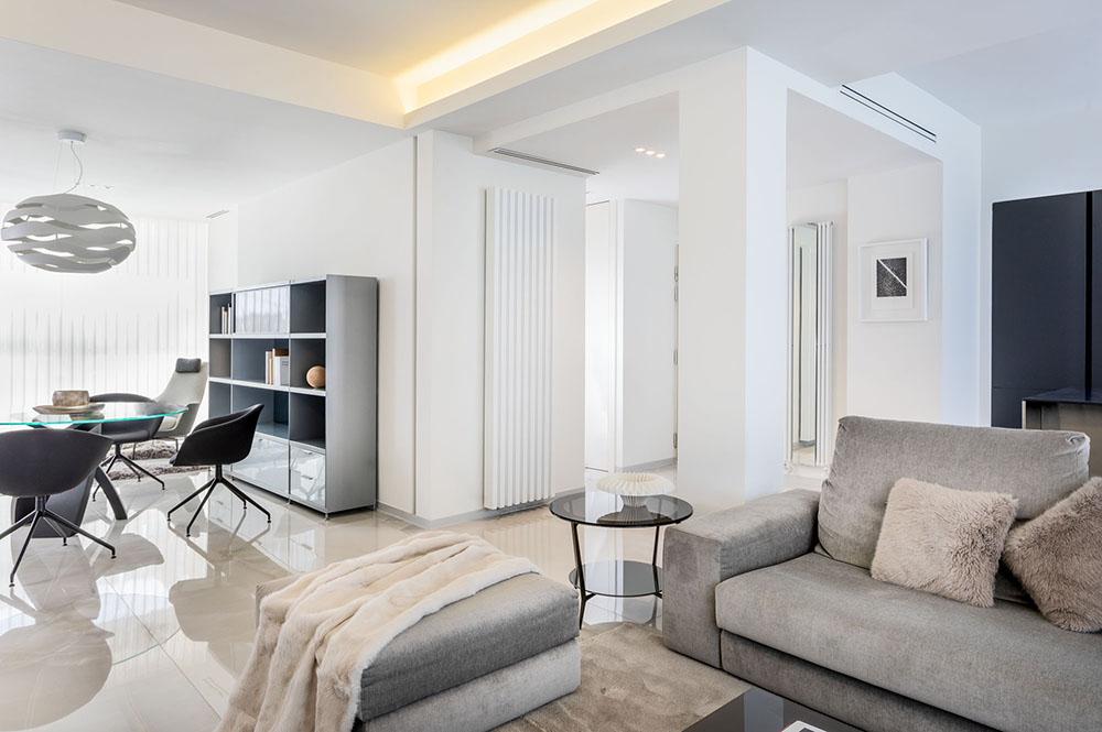 mobiliario diseno rimadesio flexform siematic proyecto integral interiorismo salon odonell