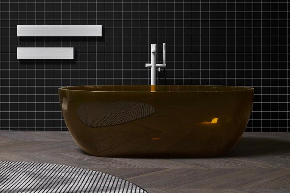 Baños de diseño. Bañera Reflex Bemade de antoniolupi
