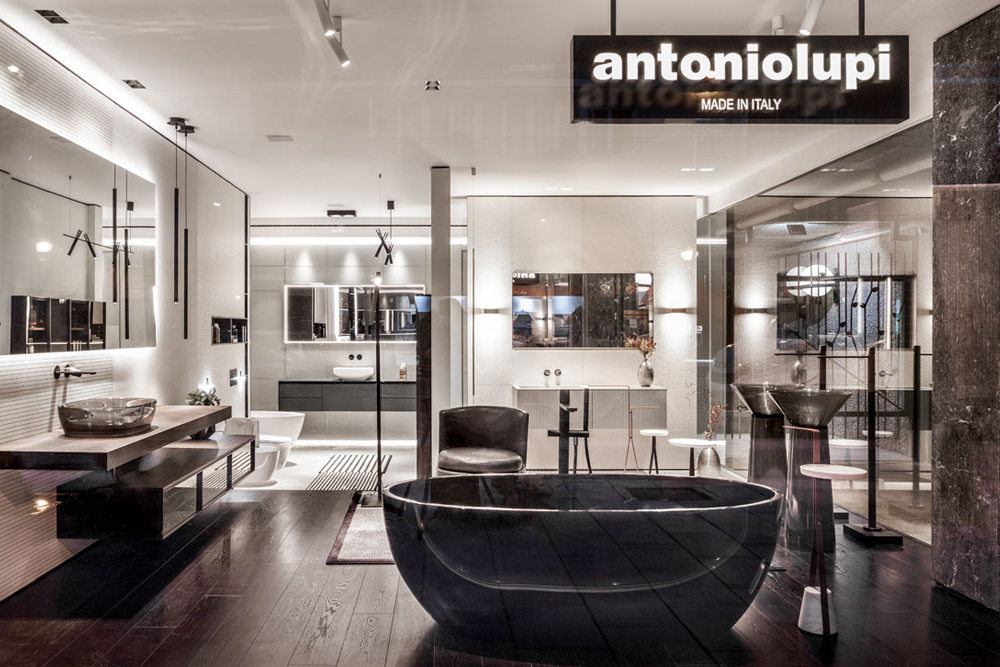 Showroom oficial de antoniolupi en Madrid, O'Donell. Iconno